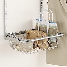 Rubbermaid configuration kit closet accessories