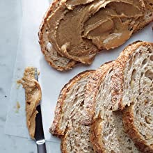 Slices of Bread and Nut Butter Spread