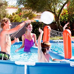 piscina desmontable jardin patio
