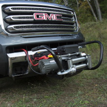 CURT Front Receiver Hitch Winch Mount
