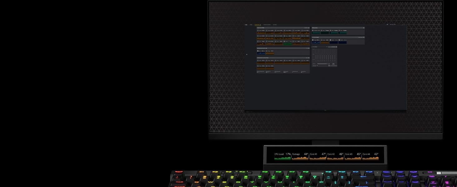 iCUE NEXUS Companion Touch Screen