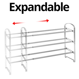 sevilleclassics iron steel mesh 3 tier shelf shelving storage gray silver clip together easy