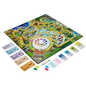 The Game Of Life Job Cards Amazon.com: Hasbro The...