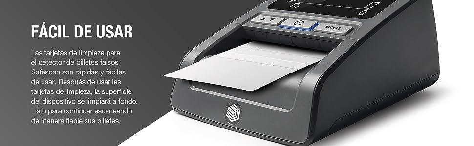 Safescan tarjetas de limpieza - Para detectores de billetes falsos