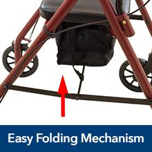 Amazon.com: ProBasics Junior Andador de aluminio con ruedas ...