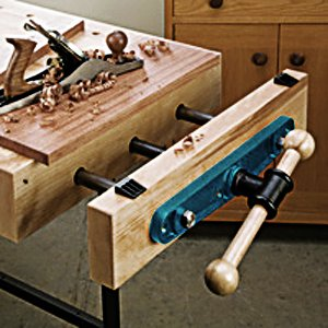Groz 39020 7 Front Vise For Work Benches