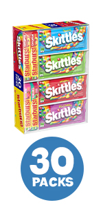 Skittles and Starburst Variety Pack 30-count Box