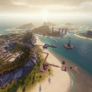 Tropico 6 - XBox One beach