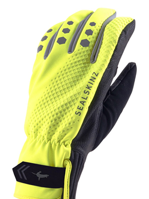 all weather cycle gloves, cycling gloves, road cycle gloves, all weather gloves, sealskinz gloves
