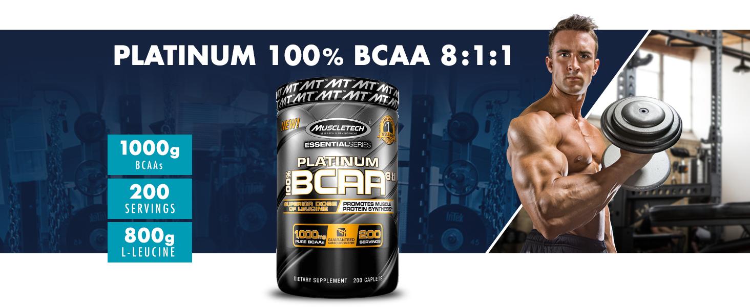 Platinum BCAA, muscletech