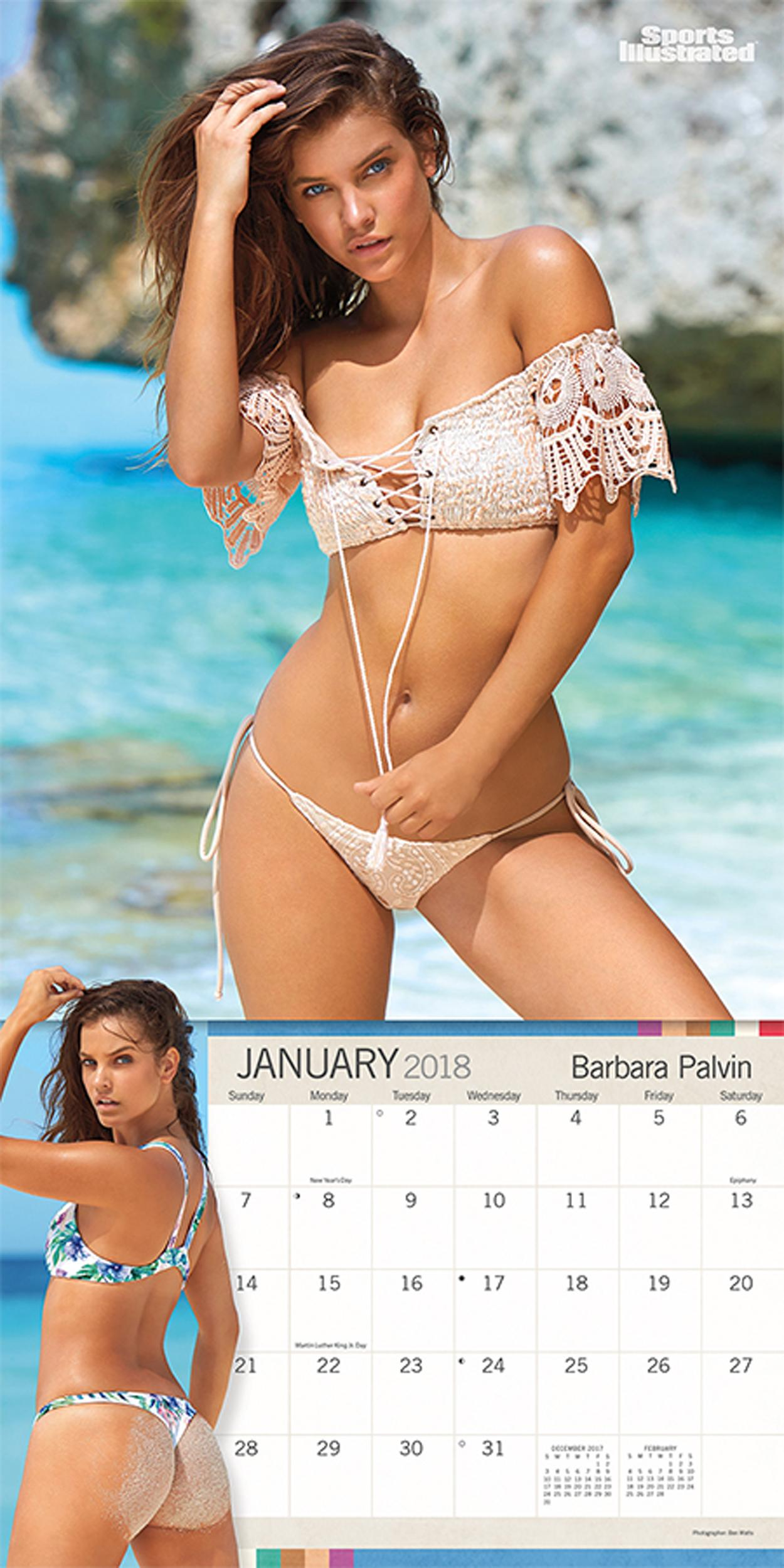 Sports Illustrated Swimsuit 2018 Wall Calendar: Trends