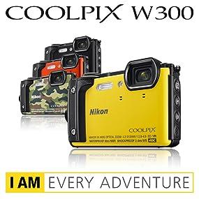 Nikon Coolpix W300 Kompaktkamera