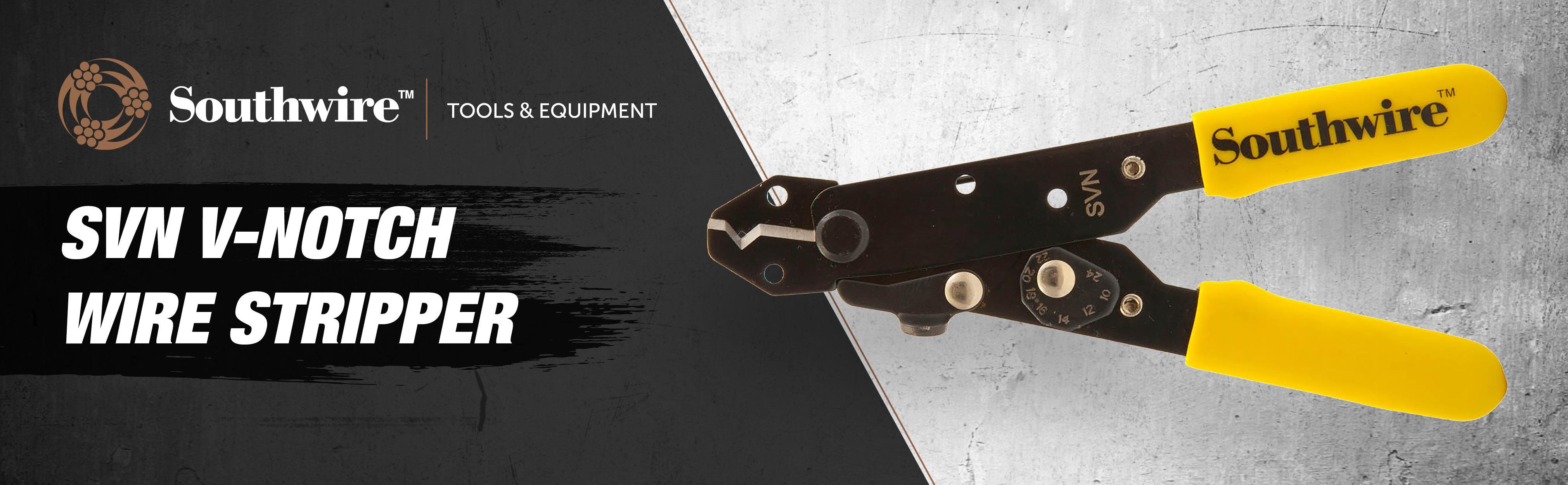 Southwire Tools & Equipment SVN V-Notch Wire Stripper - - Amazon.com