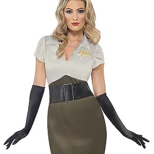 Disfraz militar para mujer, talla S (36 -38) (38816): Smiffys ...