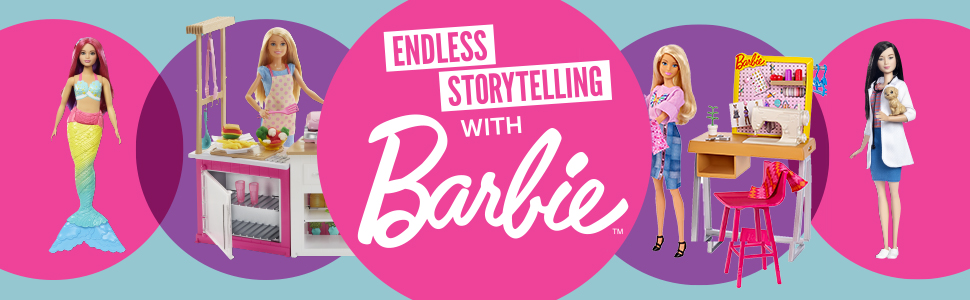 barbie, dolls, toys, girls, play sets, dollhouses, pets, dogs, friendly, animal-lovers, friends,cats