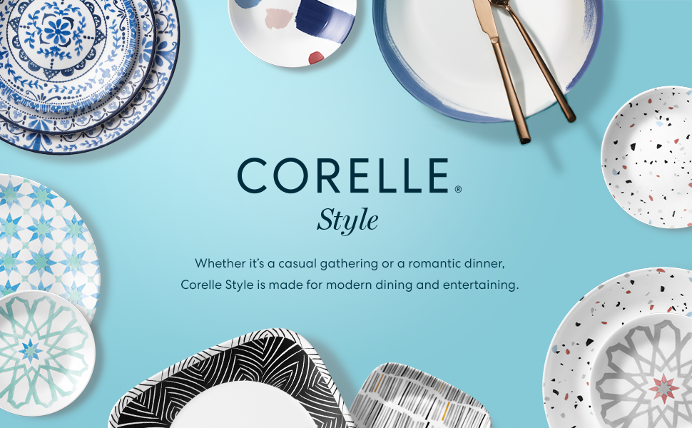 Corelle Style Dinnerware Collection