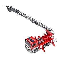 Bruder toys, Man fire engine, fire truck