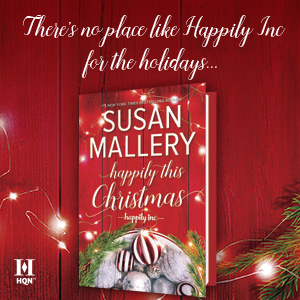 susan mallery happily this christmas inc. romance contemporary small-town holiday feel good funny