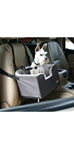 Travel;car;auto;SUV;truck;pet;dog;canine;puppy;booster;seat;elevate;carrier;restraint;cushion