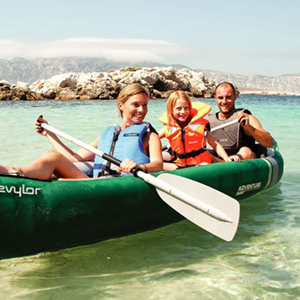 Sevylor Adventure Kayak Hinchable Canoa