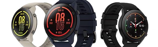 Oferta Xiaomi Mi Watch Medición de Nivel de oxígeno en Sangre, y seguimiendo de 100+ Ejercicios