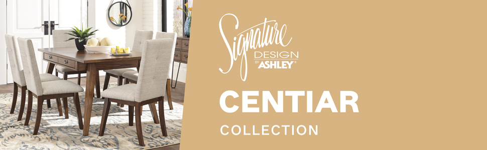 d372 centiar collection signature design by ashley furniture table modern kitchen dining room