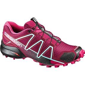 Femme Course De Et À Pied RandonnéeSynthétiquetextile Speedcross 4 Chaussures Salomon xBedCro