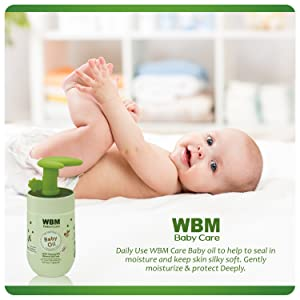 baby oil for skin care