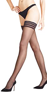 c1d391dfc FALKE Women Shelina 12 denier hold-ups - 1 pair
