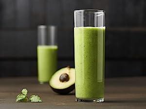 Avocado Mint Green Smoothie