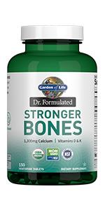 stronger bones organic nongmo nsf certified kosher