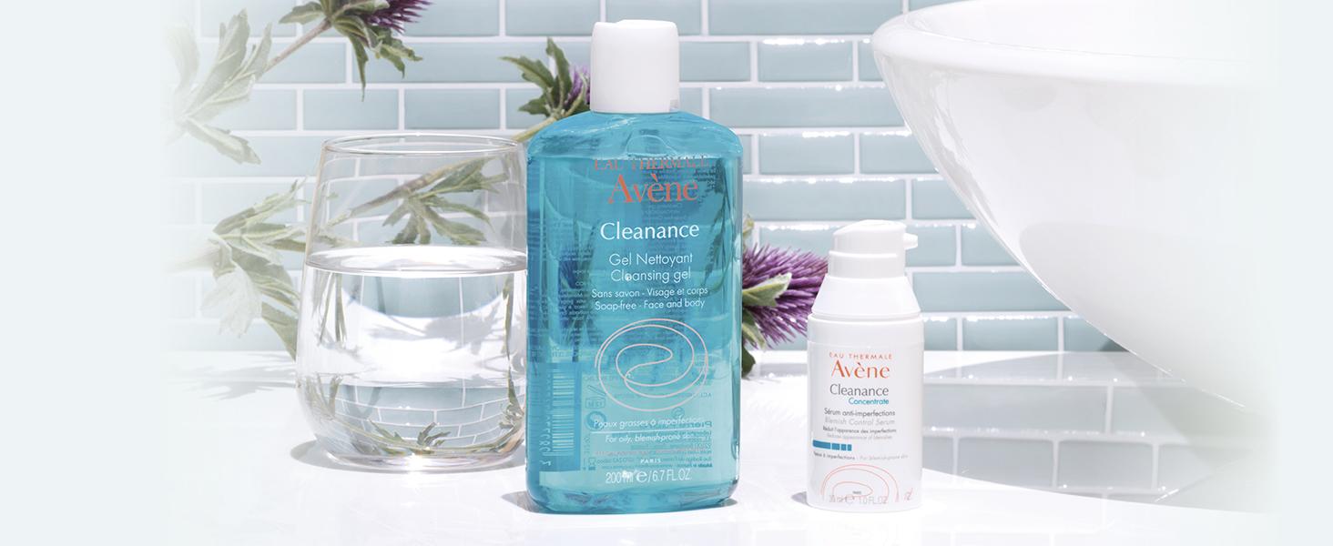 Cleanance, anti-acne, sensitive, skin care