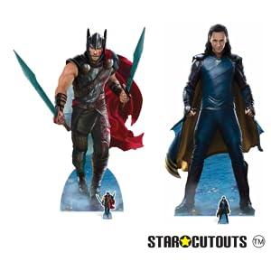 Loki y Thor fiesta de cartón Marvel