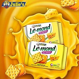 Julie's Lemond Cheddar Cheese Sandwich