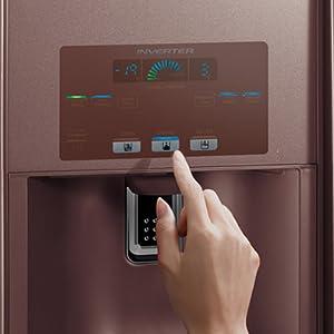 Touch Screen,Hitachi refrigerator,fridge,Best refrigerator,side by side refridgerator