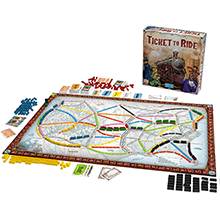 ticket to ride layout