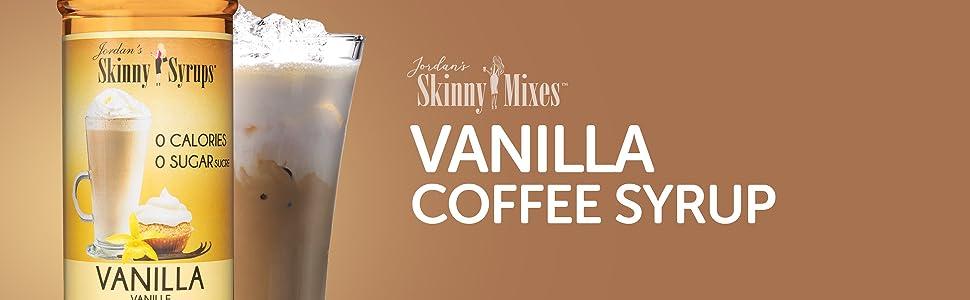 vanilla coffe syrup jordon's skinny Mixes