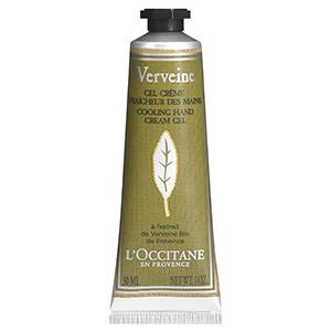loccitane verbena cooling hand cream gel