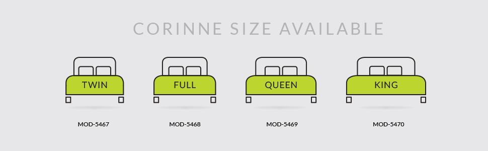 Amazon Com Modway Corinne Steel Modern Mattress