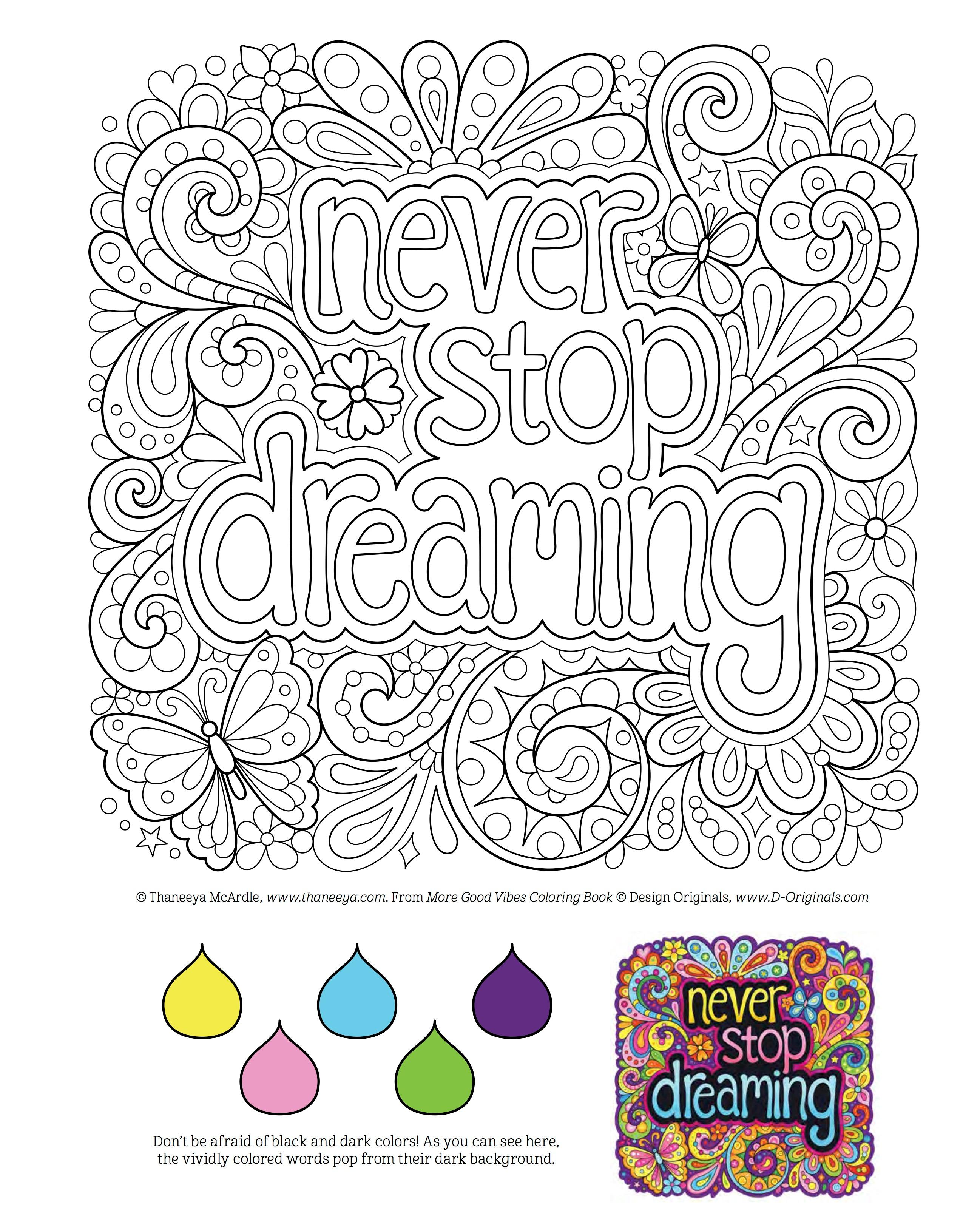 Amazon More Good Vibes Coloring Book Is Fun Design
