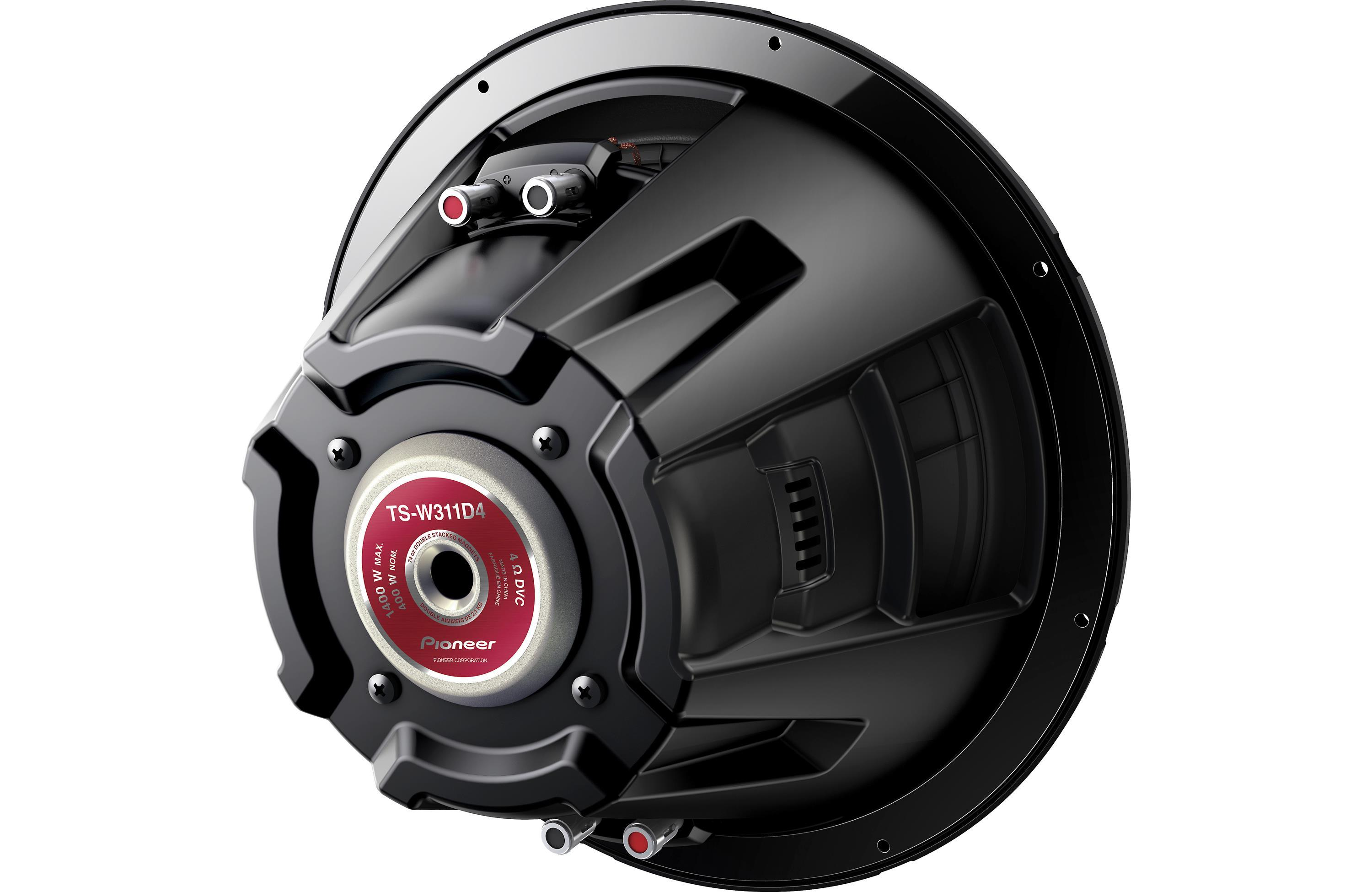 Pioneer Tsw311d4 12 Inch 1400 Watt Dual Voice Coil Dvc Single Woofer With 2 Ohm Coils Wired In View Larger