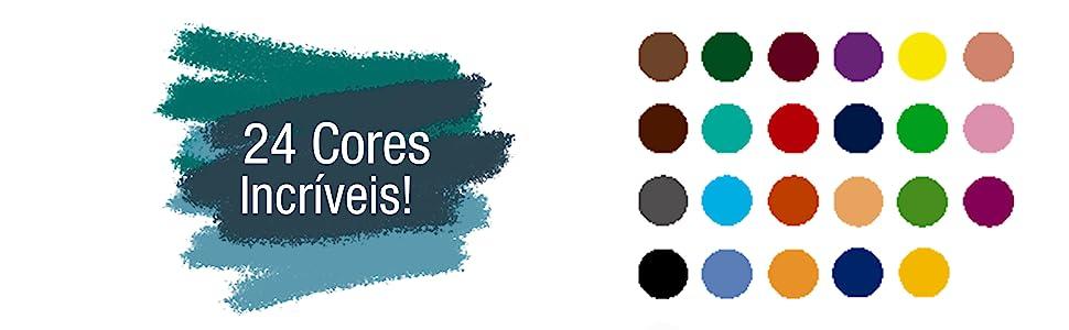 24 cores incríveis!