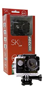 Cámara Deportiva SK8 HD 720P · Cámara Deportiva SK8 HD 1080P · Cámara Deportiva SK8 4K
