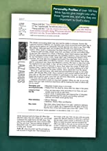Large Print LASB Life Application Study Bible NLT New Living Translation Biography Profile