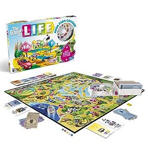 Hasbro Gaming - Juego de mesa Game Of Life (Hasbro E4304190) (Versión en portugués) , color/modelo surtido: Amazon.es: Juguetes y juegos