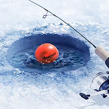 ice flasher, ice fishing sonar