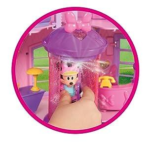 IMC - 182592 - Poupée - Maison de Minnie - Disney, Rose: Amazon.fr ...