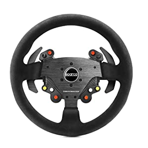 Thrustmaster TM Rally Wheel AddOn Sparco R383 Mod (Steering Wheel AddOn, 33cm, Suede, PS4 / PS3 / Xbox One / PC): Amazon.es: Videojuegos