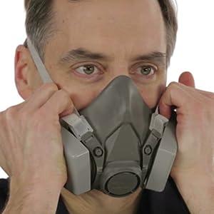 reusable respirator mask
