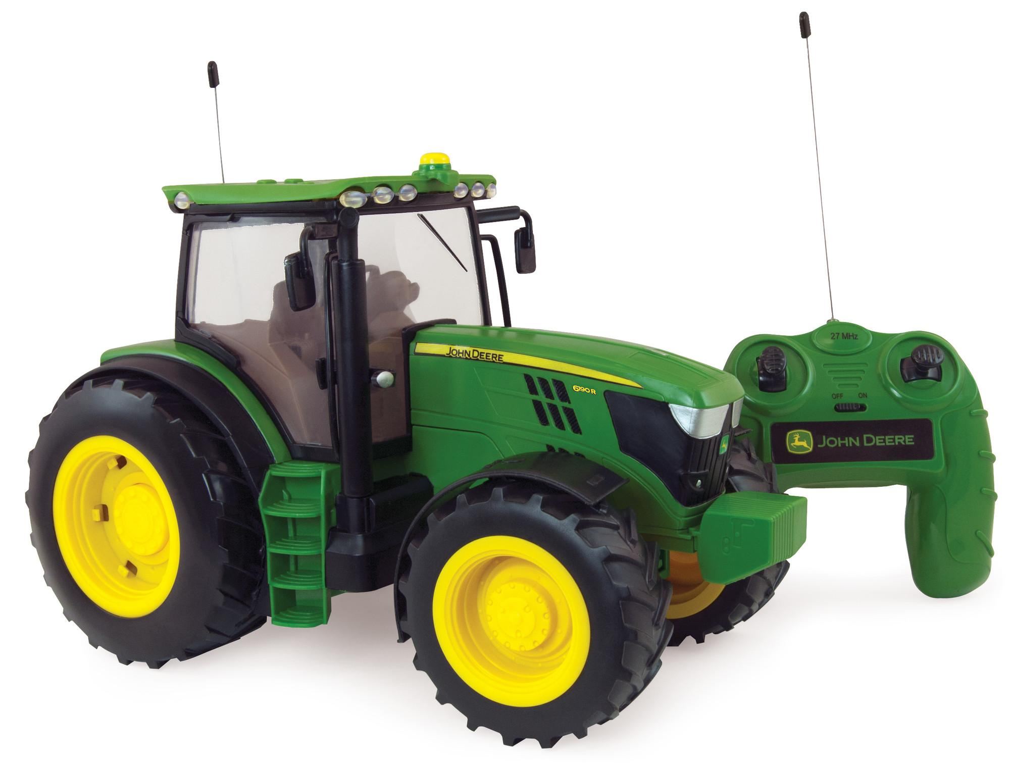 britains tomy trecker john deere 6150r big farm in gr n. Black Bedroom Furniture Sets. Home Design Ideas